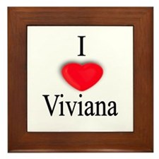 Viviana Framed Tile