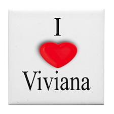 Viviana Tile Coaster