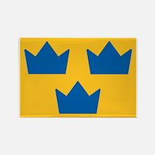 Sweden Hockey Logo Rectangle Magnet