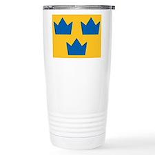 Sweden Hockey Logo Travel Mug