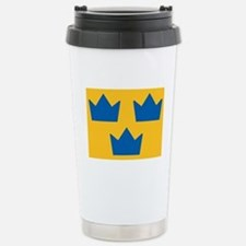 Sweden Hockey Logo Travel Mug