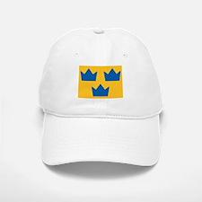 Sweden Hockey Logo Baseball Baseball Cap