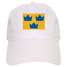 Sweden Hockey Logo Baseball Cap
