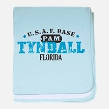 Tyndall Air Force Base baby blanket