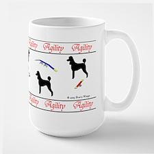 """Poodle Agility"" Mug"