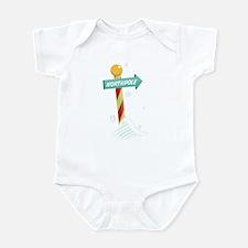 North Pole Infant Bodysuit