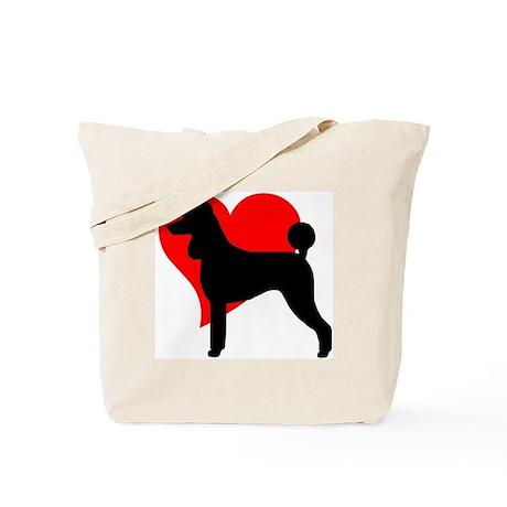 """Love Poodles "" Tote Bag"
