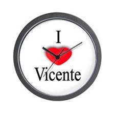 Vicente Wall Clock