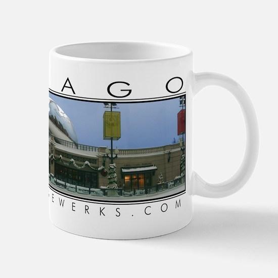 "Millennium Park ""Cloud Gate in Winter"" Mug"