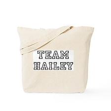 Team Hailey Tote Bag