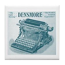Cool Typewriter Tile Coaster