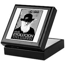 Viva Darwin Evolucion Keepsake Box