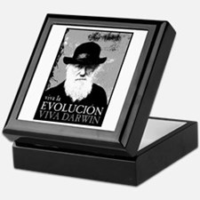Viva Darwin Evolucion Keepsake Box