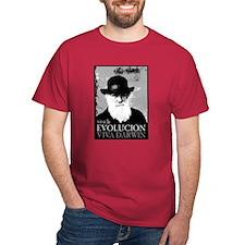 Viva Darwin Evolucion T-Shirt