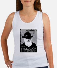 Viva Darwin Evolucion Women's Tank Top