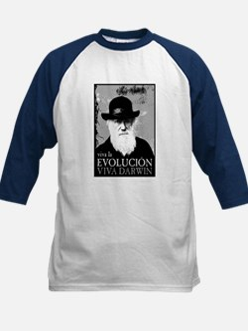 Viva Darwin Evolucion Kids Baseball Jersey