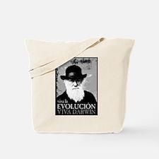 Viva Darwin Evolucion Tote Bag