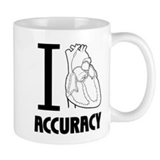 I Love Accuracy Mug