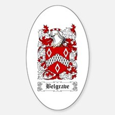 Belgrave Sticker (Oval)