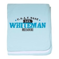 Whiteman Air Force Base baby blanket