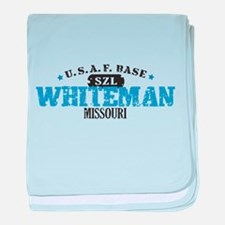 Whiteman Air Force Base baby blanket