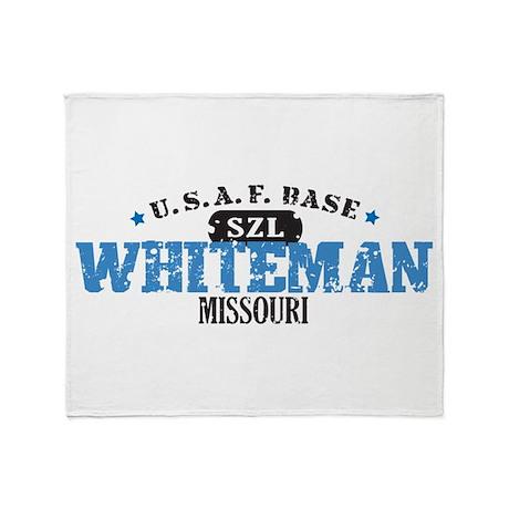 Whiteman Air Force Base Throw Blanket