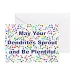 Dendrite Greeting Card