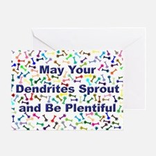 Dendrite Greeting Card