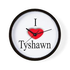 Tyshawn Wall Clock