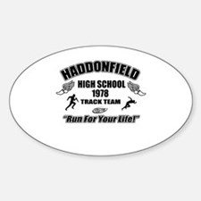 Haddonfield Track Team Decal