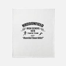 Haddonfield Track Team Throw Blanket
