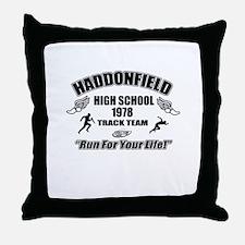 Haddonfield Track Team Throw Pillow