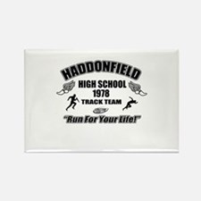 Haddonfield Track Team Rectangle Magnet