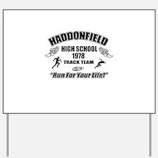 Haddonfield Track Team Yard Sign