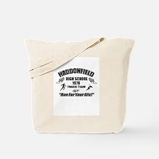 Haddonfield Track Team Tote Bag