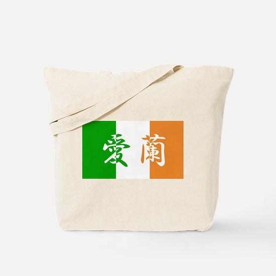 Ireland Flag Tote Bag