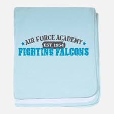 Air Force Falcons baby blanket
