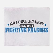 Air Force Falcons Throw Blanket