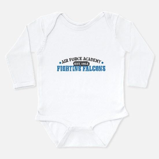 Air Force Falcons Long Sleeve Infant Bodysuit