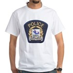 Laval Quebec Police White T-Shirt