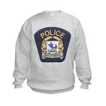 Laval Quebec Police Kids Sweatshirt