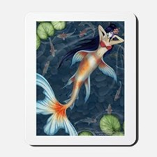 """Koi"" Mermaid Mousepad"