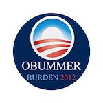 """Obummer Burden 3.5"""" Button"""