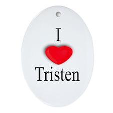 Tristen Oval Ornament