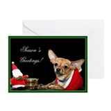 Chihuahua cards Greeting Cards