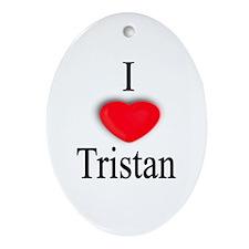 Tristan Oval Ornament