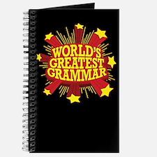 World's Greatest Grammar Journal