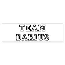 Team Darius Bumper Bumper Bumper Sticker