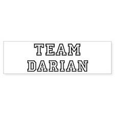 Team Darian Bumper Bumper Sticker