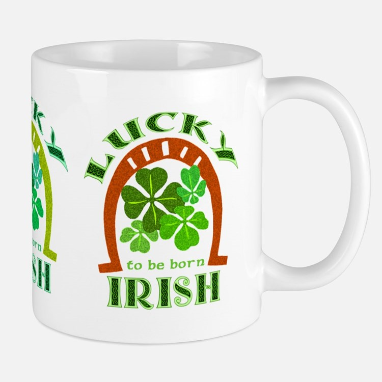 Lucky Irish Small Small Mug
